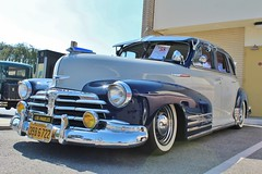 Temple City Classic Car Show (USautos98) Tags: 1948 chevrolet fleetmaster aerosedan lowrider bomb chevy