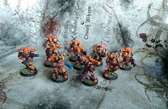 The Pyre Chaos Space Marine Squad (Latro_) Tags: chaos space 40k warhammer marines thepyre chaosspacemarinesquad