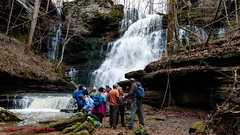 Machine Falls - Short Springs State Natural Area - Jan. 2015 (mikerhicks) Tags: winter usa landscape geotagged unitedstates hiking tennessee waterfalls tullahoma lakehills tennesseestateparks machinefalls shortspringsstatenaturalarea canon7dmkii geo:lat=3541276667 geo:lon=8617919667 machinefallsbranch sigma18250mmf3563dcmacrooshsm