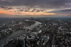 Trip to the shard (Nathan Chapman Photography) Tags: city sunset urban london night shard