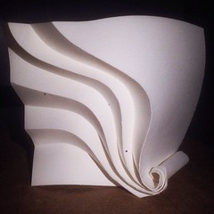 Smoking (mike.tanis) Tags: paper paperart design 3d origami cigarette spliff paperfolding curvedfolding