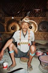 the chief (Mrtn_Rckrt) Tags: portrait india analog 35mm canon kodak chief eos5 canoneos5 nagaland portra400 filmroll longwa kodakportra