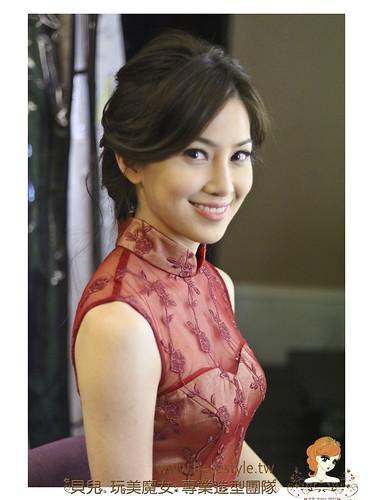 [Wedding] 展現絕佳氣質的新娘婚宴造型 by 林珍卉 貝兒新娘秘書