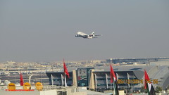 Emirates Airbus A380 Take off from Dubai Int'l Airport - UAE (firas.dubai) Tags: airport dubai united uae off emirates international arab take   dxb
