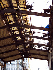 (  / Yorozuna) Tags: clock japan construction rust ruins structure hiroshima framework shoppingstreet shoppingarcade shoppingdistrict steelframe       redrust       japaneseruins