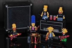 Simpsons Rocks (puhang) Tags: bart simpsons homer thesimpsons tamron90mm nikond300s simpsonslego