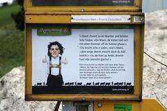 Witzweg - Appenzeller Dialekt für Dummies (Kecko) Tags: geotagged schweiz switzerland europe suisse ar swiss joke kecko ostschweiz svizzera dialekt appenzeller witz dialect 2015 appenzellerland walzenhausen witzweg swissphoto geo:lon=9601430 geo:lat=47451040