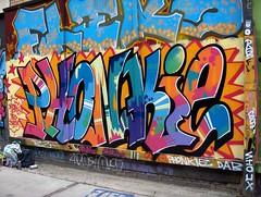 2007 (DrGarageland) Tags: art wall graffiti mural colours painted piece dab spraycan savage phonk funkypunk phonkie