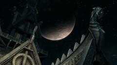 Quiet NIght (nzpaper) Tags: game dark landscape screenshot atmosphere videogame skyrim