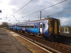 Troon - 03-06-2016 (agcthoms) Tags: station scotland trains scotrail railways troon ayrshire class156 156507