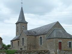 glise de Sainte-Croix-sur-Orne (tordouetspirit) Tags: castle architecture iglesia normandie normandy glise chteau bassenormandie paysagenormand