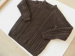 Aran wool sweater (Mytwist) Tags: irish brown classic wool fashion vintage fisherman knitting craft style charcoal passion knitted aran pullover authentic textured laine vouge cabled aransweater mytwist aranjumper aranstyle cindersgladrags