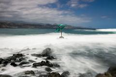 La Marinera beach (Mara Castillejo) Tags: mer la playa canarias gran canaries dauphin mara canaria delfn marinera castillejo
