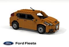 Ford Fiesta B299MCA Base 5-Door (lego911) Tags: auto ford car model europe fiesta lego render company motor hatch base entry compact cad hatchback povray 5door moc ldd miniland subcompact 2013 100ps 5dr foitsop 100hp 2010s lego911 b299 b299mca