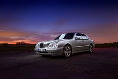 IMG_3595 OK (Ondej Zeman) Tags: car night photography mercedes benz e w210