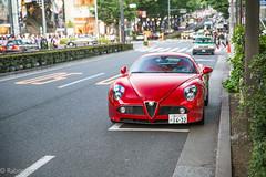 Alfa Romeo 8C competizione (Rabookie) Tags: red italian exotic alfa romeo rare coupe 8c competizione