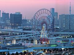 Blue Hour (Fehlfokus) Tags: tokyo odaiba