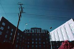 Brainwash (analoguefilm) Tags: analog 35mm kodak scientology infrared brainwash e6 colorinfrared analogphotography minoltax570 aerochrome