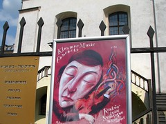 Klezmer Music (bazylek100) Tags: architecture poster isaac synagogue poland polska jewish jews krakw cracow plakat kazimierz klezmer architektura synagoga ydowski izzak