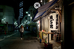 Yanagibashi, Meieki 4-chome, Nagoya (kinpi3) Tags: street japan night nagoya gr ricoh  yanagibashi meieki
