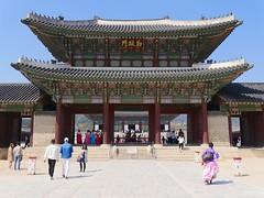 Geunjeongmun (Travis Estell) Tags: palace korea seoul southkorea jongno gyeongbokgung gyeongbokpalace republicofkorea gyeongbokgungpalace jongnogu