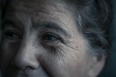Mirada (Isaac Franco) Tags: old vintage eyes eye woman face wrinkles