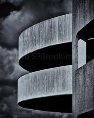 BRUTALISM REWORKED FOR BW (Simon R Brook) Tags: blackandwhite monochrome stark carpark brutalism brutal uxbridge nikopn d7000 simonrbrook