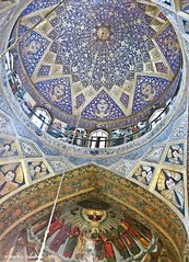 Vank church vault more details (maccdc) Tags: church museum iran esfahan genocide armenian vank