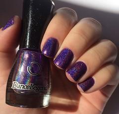 Anthem (Francinie Helvadjian) Tags: purple anthem roxo holographic esmalte dancelegend