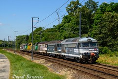 09-07-16 BB 67204 67230 67262 66408 6948X 69484 67232 TM SPDC Nevers (vincent037) Tags: sncf train machines tm bb67200 bleue montlouis loire transversale bb69000 vincent bussereau