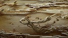 2015-06-29 Hangzhou - Leifang Pagoda, Sudu Walk, Westlake Impressions 026 (qni1987) Tags: 4k 169 wallpaper nikon d5100 china 2015 summer hangshou leifang pagoda pagode carving wood wodden art schnitzerei kunst holz