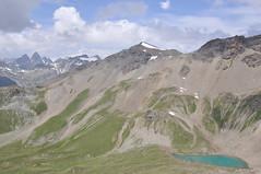 DSC_4419 (giuseppe.cat75) Tags: svizzera landscape mountains pizclunas 2793m lake snow clouds