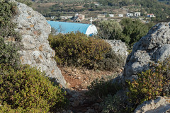 (Psinthos.Net) Tags: houses light summer sunlight mountains nature leaves june rock stone countryside rocks afternoon village view cross path stones top branches ground chapel soil shrubs sunnyday panoramicview        psinthos  agiaparaskevi      agiaparaskeui                psinthosvillage agiaparaskeuvi