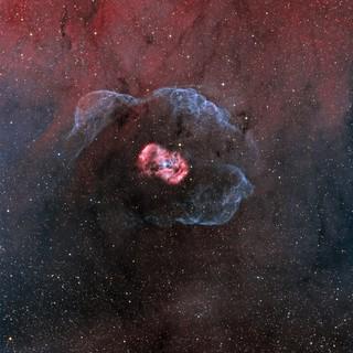 Bipolar emission nebula NGC6164/6165