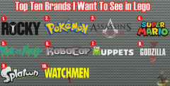 Top Ten Brands I Want To See in Lego (AntMan3001) Tags: see lego top want ten brands i