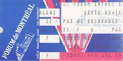 David Bowie, 13 juillet 1983, Forum de Montral (Sylvain Mnard) Tags: can canada forumdemontral geo:lat=4548956554 geo:lon=7358447313 montreal 1983 bowie david forum juillet mercredi geotagged montral qubec concert montrealforum music musique rock seriousmoonligh
