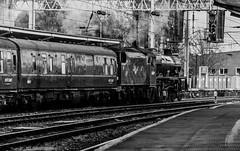 Eating Time (JordanMossom) Tags: citadel jubilee railway steam cumbria railtour day8 carlisle lms mainline galatea westcoastmainline wcml stanier 45699 wcrc westcoastrailways gbix greatbritainix