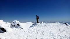 Looking forward / Mirando para adelante (Pajaro Post) Tags: patagonia paraso lonquimay volcn cielo nieve snowwwwwwwwwwww chile ski esqu