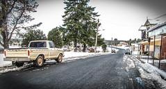 Waratah Main Street, Tasmania (paulledger81) Tags: iced cold frosty winter snow deserted tarkine truck australia tasmania waratah f100 f100ford