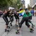 Roller Derby Pride Parade 2016 - 01