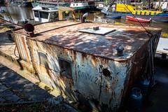 EM10-8191365 (Luc de Schepper) Tags: decay gouwzee groningen holland olympus1240mmf28 olympusem10 rust ship