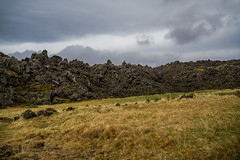 Berserkjahraun 38 (raelala) Tags: 2016 berserkjahraun snaefellsnes snaefellsnespeninsula canon1785mm crater europe europeantravel iceland icelanding2016 lava lavafield photographybyrachelgreene ringroad roadtrip scandinavia thatlalagirl thatlalagirlphotography thatlalagirlcom travel