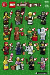 LEGO Collectable Minifigures Series 11 (71002) (Pasq67) Tags: lego minifigs minifig minifigure minifigures afol toy toys flickr pasq67 series11 2013 series 11 71002 front view the promotional poster