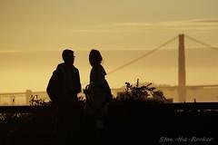 Coit Tower - 092316 - 04 - Golden Gate Bridge Viewed from Coit Tower (Stan-the-Rocker) Tags: stantherocker sony ilce sanfrancisco coittower telegraphhill northbeach sel18200le goldengatebridge