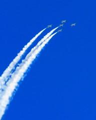 Off We Go Into The Wide Blue Yonder... (Chic Bee) Tags: aerobatics airshow bluesky navyjets blueangels jets aircraft davismonthanafb tucson arizona