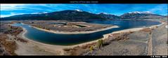 Aerial View of Twin Lakes, Colorado (episa) Tags: colorado drone djiphantom4professional aerialview stitching twinlakes inexplore