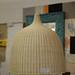 Wicker lamp shade