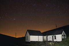 Spelga Dam (Explored) (Paul S Wharton) Tags: county canon newcastle stars dam down astrophotography 7d pleiades spelga