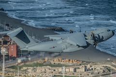 RAF A400M ZM400 at RAF Gibraltar 30 Dec 2014 (David Parody) Tags: david m parody 2014