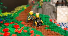 Otiongard Keep (LWC guy) Tags: show brick guy castle landscape seaside lego auckland creation keep moc 2014 lwc otiongard